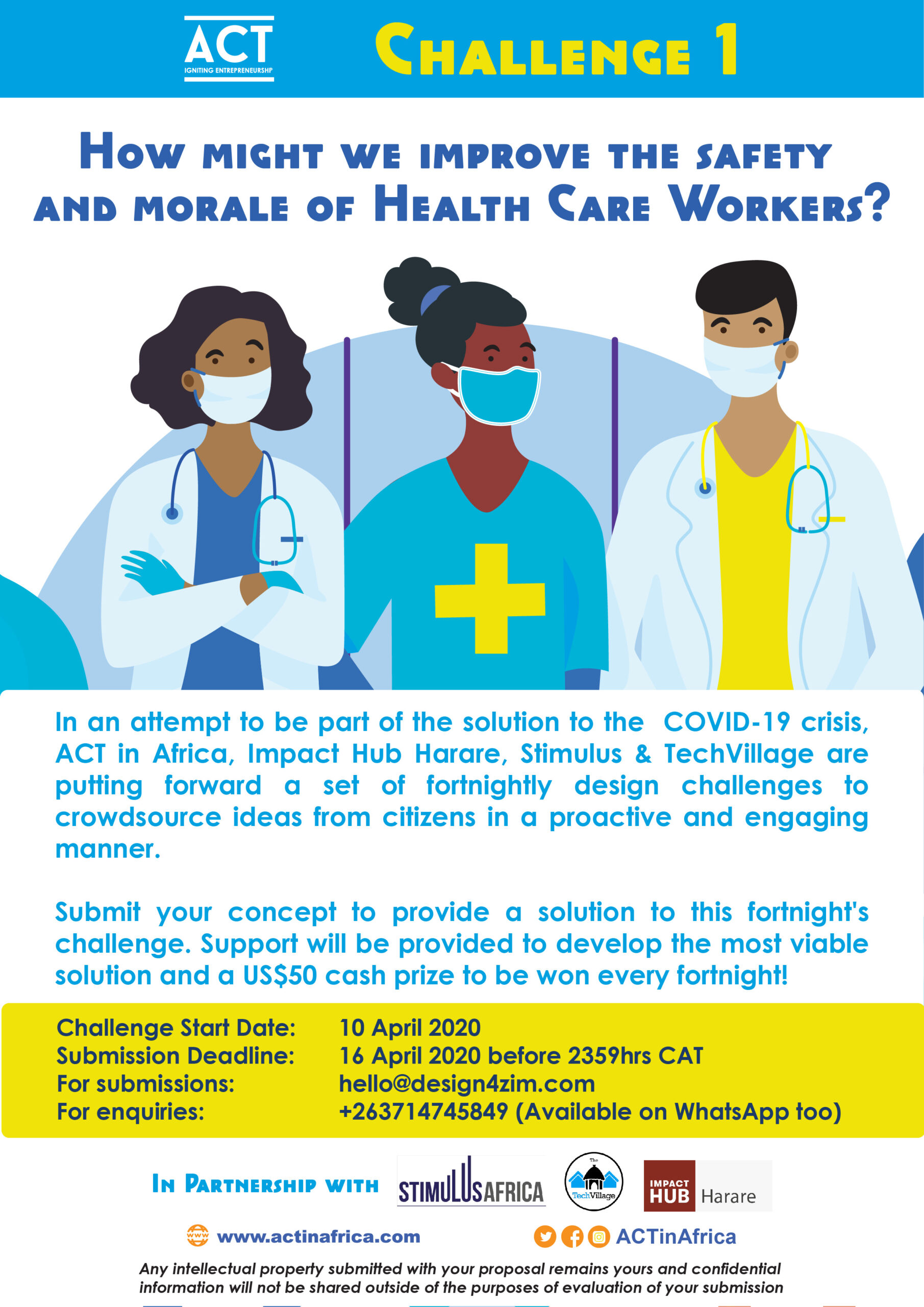 ACT Health Challenge Poster 01